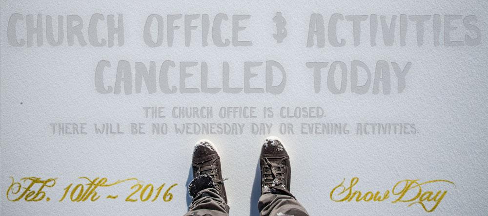 Church-office-closed